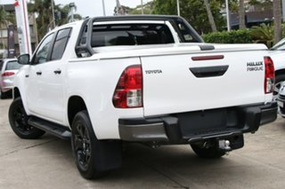 2018 Toyota Hilux GUN126R Rogue (4x4) Glacier White 6 Speed Automatic Dual Cab Utility.