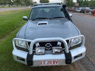 2007 Nissan Patrol GU 5 MY07 ST Grey 4 Speed Automatic Wagon.