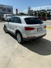 2012 Audi Q3 8U MY13 TFSI S Tronic Quattro White 7 Speed Sports Automatic Dual Clutch Wagon