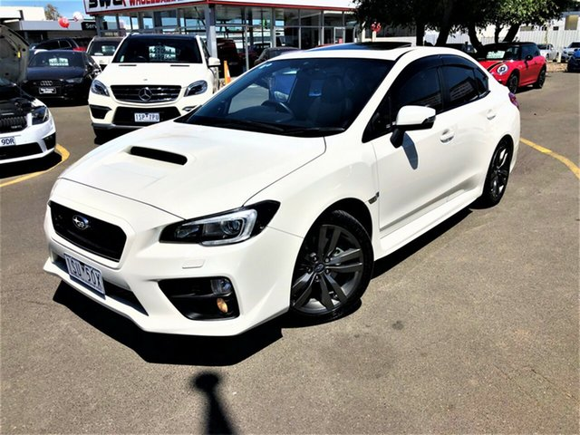 Used Subaru WRX V1 MY15 Premium AWD Seaford, 2015 Subaru WRX V1 MY15 Premium AWD White 6 Speed Manual Sedan