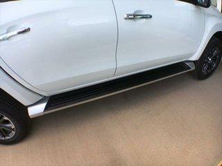 2020 Mitsubishi Triton MR MY21 GLS Double Cab White 6 Speed Sports Automatic Utility