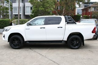 2018 Toyota Hilux GUN126R Rogue (4x4) Glacier White 6 Speed Automatic Dual Cab Utility
