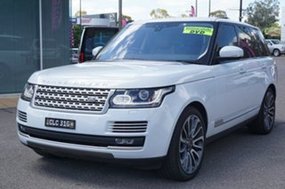 2017 Land Rover Range Rover L405 17MY Vogue SE Yulong White 8 Speed Sports Automatic Wagon