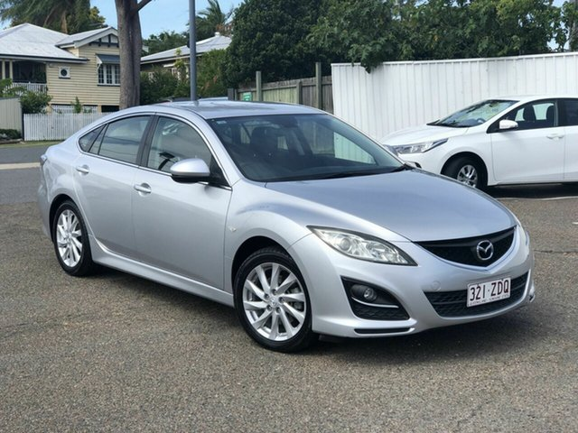 Used Mazda 6 GH1052 MY10 Classic Chermside, 2010 Mazda 6 GH1052 MY10 Classic Silver 6 Speed Manual Sedan
