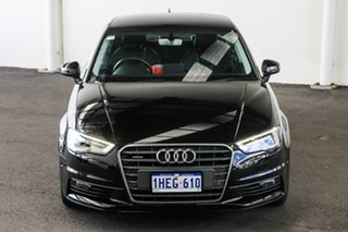 2015 Audi A3 8V MY15 1.8 TFSI Ambition Quattro Black 6 Speed Direct Shift Sedan