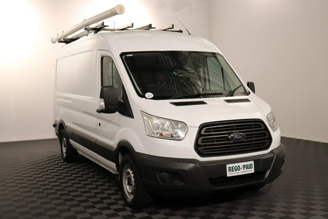 Used Ford Transit VO 350L (Mid Roof) Acacia Ridge, 2014 Ford Transit VO 350L (Mid Roof) Frozen White 6 speed Manual Van