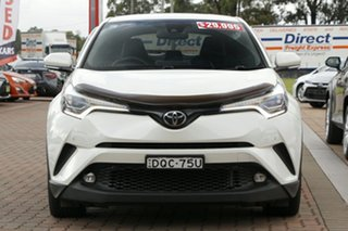 2017 Toyota C-HR NGX10R Koba S-CVT 2WD White 7 Speed Constant Variable SUV