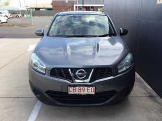 2013 Nissan Dualis J10W Series 4 MY13 ST Hatch X-tronic 2WD Black 6 Speed Constant Variable.