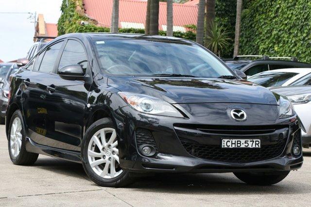 Pre-Owned Mazda 3 BL 11 Upgrade SP20 Skyactiv Mosman, 2011 Mazda 3 BL 11 Upgrade SP20 Skyactiv Black 6 Speed Automatic Sedan