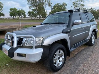 2007 Nissan Patrol GU 5 MY07 ST Grey 4 Speed Automatic Wagon.