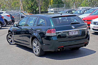 2013 Holden Commodore VF MY14 SV6 Sportwagon Green 6 Speed Sports Automatic Wagon.