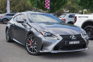 2016 Lexus RC GSC10R RC350 F Sport Grey 8 Speed Sports Automatic Coupe.