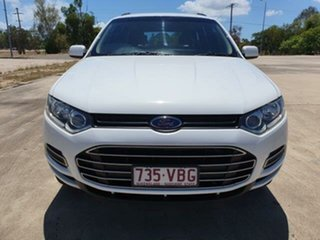 2014 Ford Territory SZ MkII TX Seq Sport Shift Winter White 6 Speed Sports Automatic Wagon.