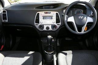 2011 Hyundai i20 PB MY11 Active Sleek Silver 4 Speed Automatic Hatchback