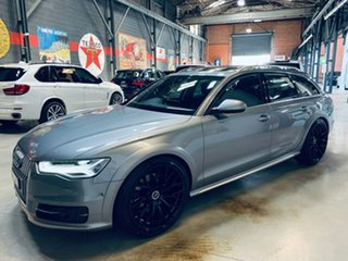 2015 Audi A6 4G MY16 Allroad S Tronic Quattro Grey 7 Speed Sports Automatic Dual Clutch Wagon