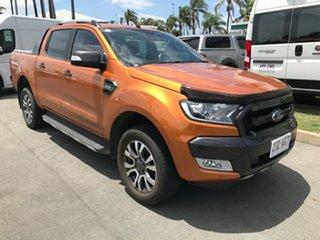 2017 Ford Ranger PX MkII Wildtrak Double Cab Pride Orange 6 speed Automatic Utility