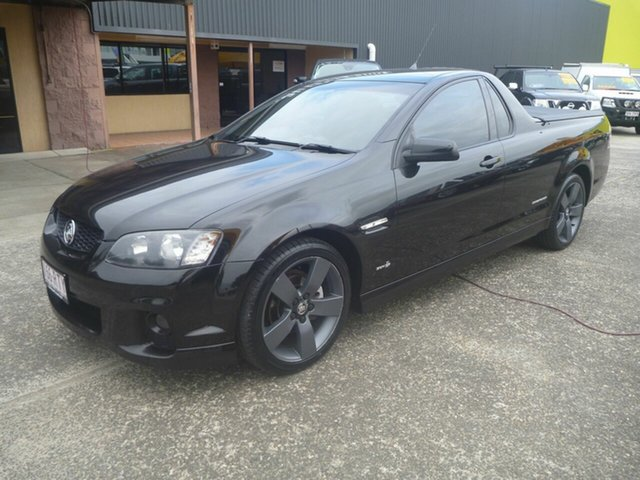Used Holden Ute VE II SV6 Thunder Morayfield, 2011 Holden Ute VE II SV6 Thunder Black 6 Speed Manual Utility