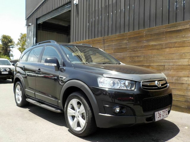 Used Holden Captiva CG Series II 7 AWD CX Labrador, 2011 Holden Captiva CG Series II 7 AWD CX Black 6 Speed Sports Automatic Wagon