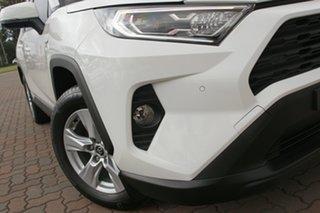2019 Toyota RAV4 Axah52R GX 2WD White/cert 6 Speed Constant Variable SUV Hybrid.