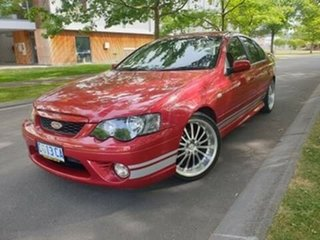 2006 Ford Falcon BF XR6 Red 6 Speed Sports Automatic Sedan.