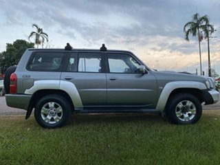 2007 Nissan Patrol GU 5 MY07 ST Grey 4 Speed Automatic Wagon