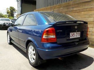 2004 Holden Astra TS MY03 SXI Blue 5 Speed Manual Hatchback