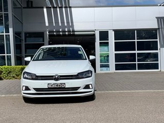 2020 Volkswagen Polo AW MY20 85TSI DSG Comfortline White 7 Speed Sports Automatic Dual Clutch.
