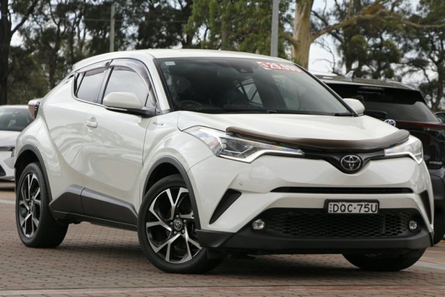 Pre-Owned Toyota C-HR NGX10R Koba S-CVT 2WD Warwick Farm, 2017 Toyota C-HR NGX10R Koba S-CVT 2WD White 7 Speed Constant Variable SUV