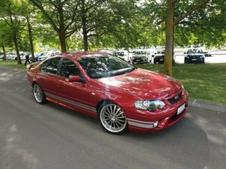 2006 Ford Falcon BF XR6 Red 6 Speed Sports Automatic Sedan
