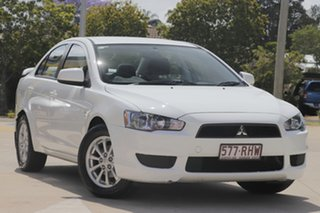 2010 Mitsubishi Lancer CJ MY11 SX Sportback White 6 Speed Constant Variable Hatchback.