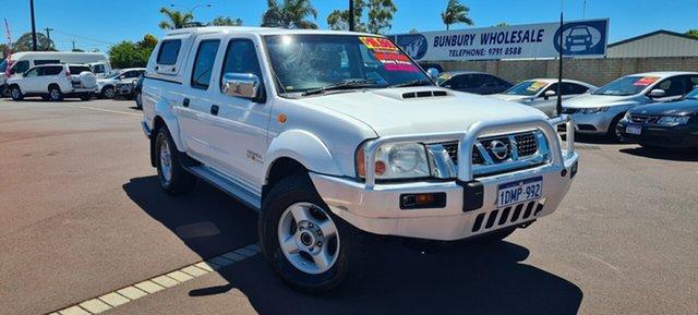 Used Nissan Navara D22 MY2009 ST-R East Bunbury, 2010 Nissan Navara D22 MY2009 ST-R White 5 Speed Manual Utility