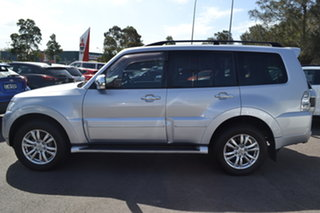 2014 Mitsubishi Pajero NX MY15 Exceed Silver 5 Speed Sports Automatic Wagon