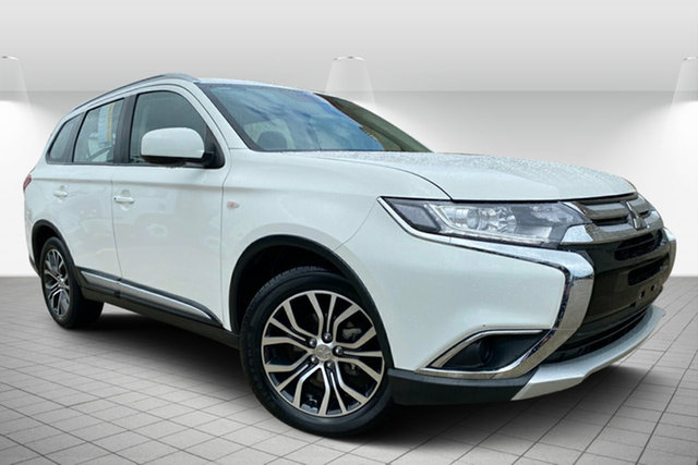 Used Mitsubishi Outlander ZL MY18.5 ES 2WD ADAS Hervey Bay, 2018 Mitsubishi Outlander ZL MY18.5 ES 2WD ADAS White 6 Speed Constant Variable Wagon