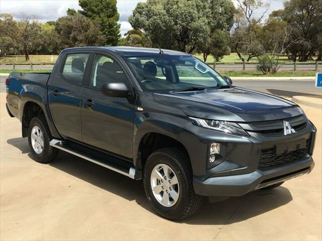 New Mitsubishi Triton MR MY21 GLX+ Double Cab Berri, 2020 Mitsubishi Triton MR MY21 GLX+ Double Cab Graphite Grey 6 Speed Sports Automatic Utility