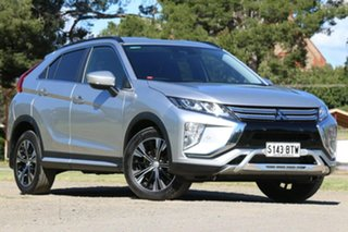 2017 Mitsubishi Eclipse Cross YA MY18 LS 2WD Silver 8 Speed Constant Variable Wagon.