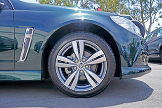 2013 Holden Commodore VF MY14 SV6 Sportwagon Green 6 Speed Sports Automatic Wagon