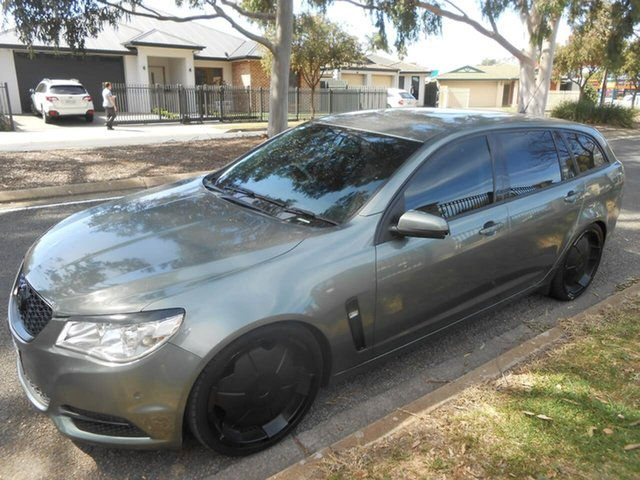 Used Holden Commodore VF MY14 Evoke Sportwagon Broadview, 2013 Holden Commodore VF MY14 Evoke Sportwagon Grey 6 Speed Sports Automatic Wagon