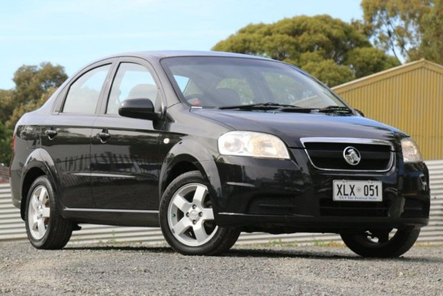 Used Holden Barina TK MY07 Clare, 2006 Holden Barina TK MY07 Black 4 Speed Automatic Sedan