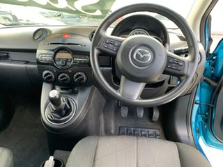 2012 Mazda 2 DE10Y2 MY12 Neo Blue 5 Speed Manual Hatchback
