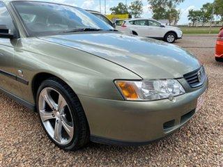 2003 Holden Commodore VY II Executive Acid Green 4 Speed Automatic Sedan.