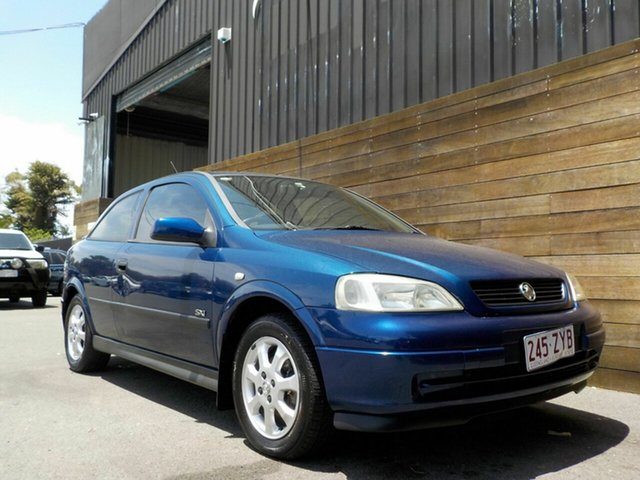 Used Holden Astra TS MY03 SXI Labrador, 2004 Holden Astra TS MY03 SXI Blue 5 Speed Manual Hatchback