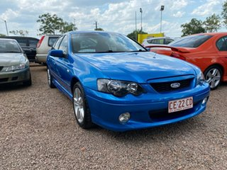 2002 Ford Falcon BA XR6 Blue 4 Speed Sports Automatic Sedan.