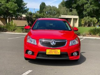 2013 Holden Cruze JH Series II MY13 SRi Red 6 Speed Manual Hatchback.