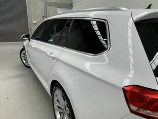 2018 Volkswagen Passat 3C (B8) MY18 132TSI DSG White 7 Speed Sports Automatic Dual Clutch Wagon