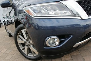 2014 Nissan Pathfinder R52 MY14 Ti X-tronic 4WD Blue 1 Speed Constant Variable SUV.