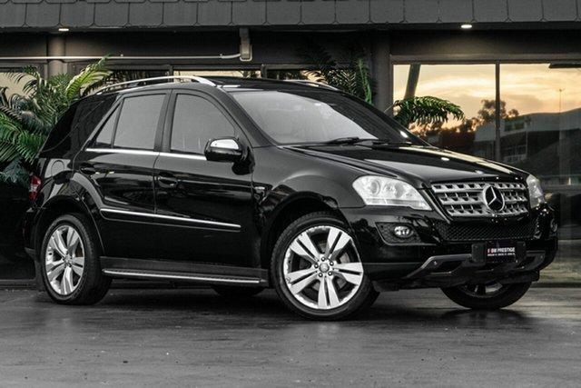 Used Mercedes-Benz M-Class W164 MY10 ML350 CDI BlueEFFICIENCY Bowen Hills, 2009 Mercedes-Benz M-Class W164 MY10 ML350 CDI BlueEFFICIENCY Black 7 Speed Sports Automatic Wagon
