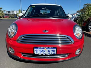 2007 Mini Hatch R56 Cooper Red 6 Speed Sports Automatic Hatchback