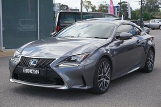 2016 Lexus RC GSC10R RC350 F Sport Grey 8 Speed Sports Automatic Coupe