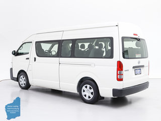 2016 Toyota HiAce KDH223R MY15 Commuter White 5 Speed Manual Bus