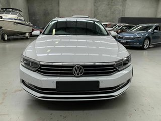 2018 Volkswagen Passat 3C (B8) MY18 132TSI DSG White 7 Speed Sports Automatic Dual Clutch Wagon.